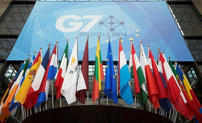 G7 leaders meet without Russia, take firm line on Ukraine