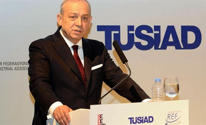 Head of Turkish business bloc resigns after scandal-UPDATED
