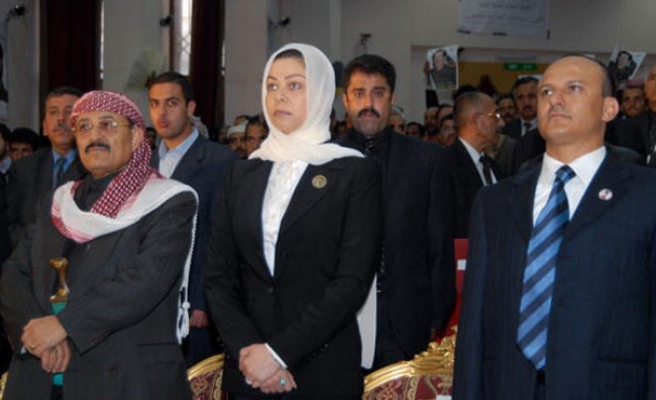 Saddam's daughter pleased by recent events in Iraq