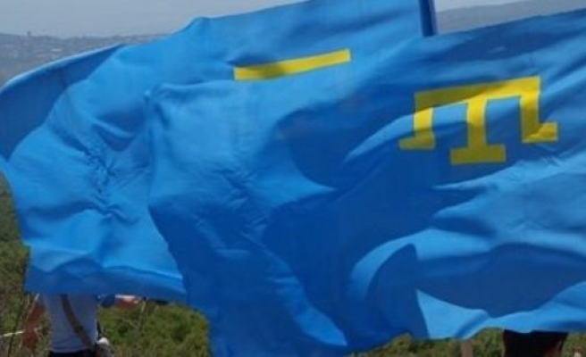 Crimean Tatars banned from holding flag day