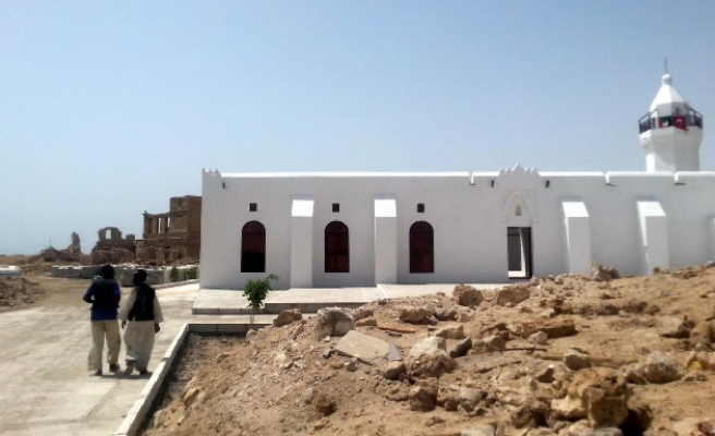 Renovated Ottoman-era sites open in Sudan's Suakin