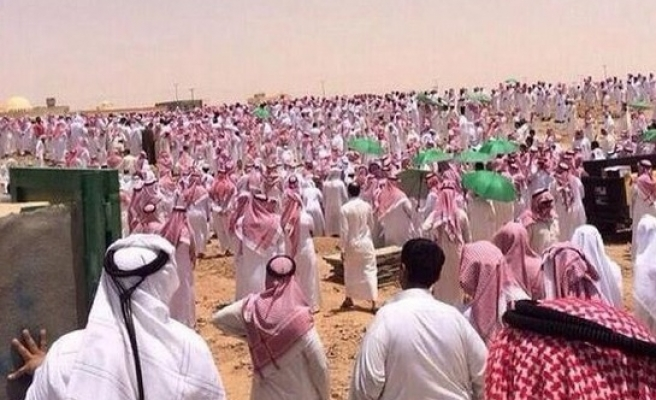 Hundreds attend funeral of murdered Saudi student