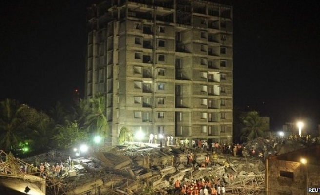 India building collapse death toll rises to 47