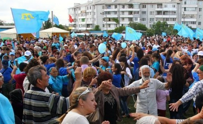 Crimean Tatar Flag Day marked all over the world