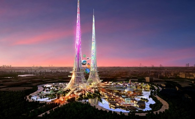 China skyscraper to be world's tallest building