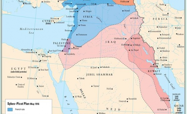 The Sykes Picot Treaty A Century Of Sharing In The Middle East