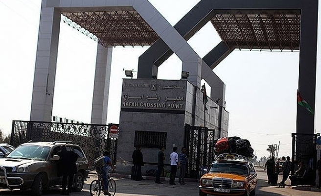 Egypt to open Rafah crossing with Gaza on Tuesday