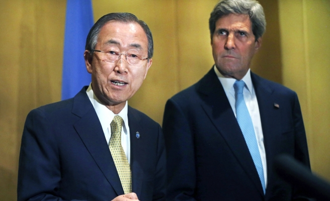Kerry, UN and Egypt calls for 7-day Gaza ceasefire