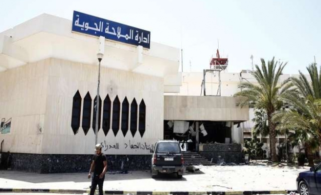 Blast outside Algeria embassy in Libya