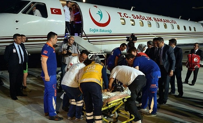 447 injured Gazans treated abroad: Official