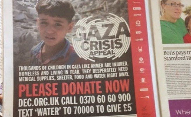 Israeli newspaper forced to apologize over Gaza aid ad