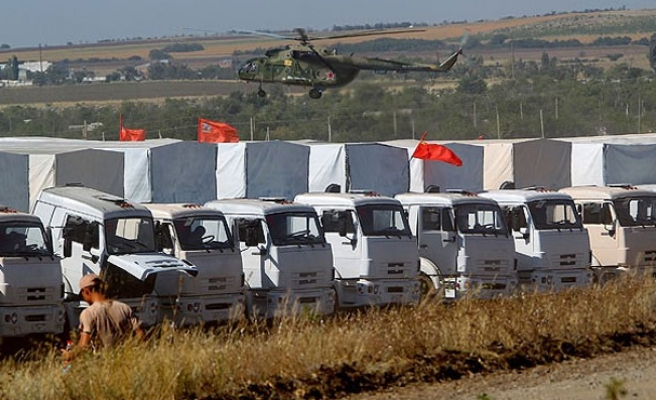 Russia sends more aid to separatist-controlled Ukraine
