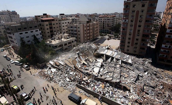 Israel's shelling of Gaza mall leaves shop owners in shock