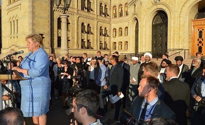 Norway Muslims take to capital's streets to protest