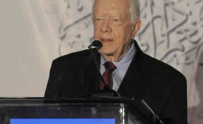 Ex-US pres. Carter calls for peace at ISNA convention
