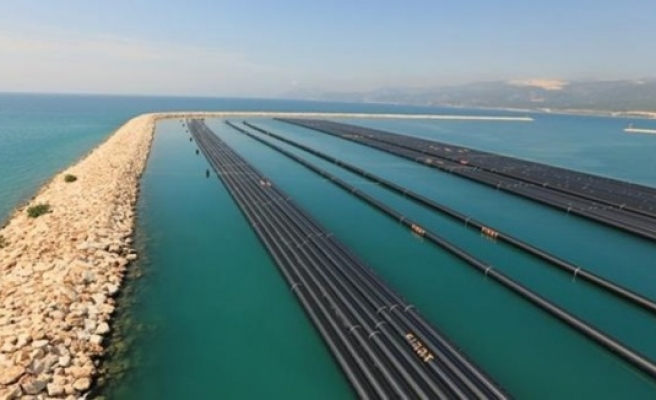 Turkey-Cyprus water pipeline project 55% complete