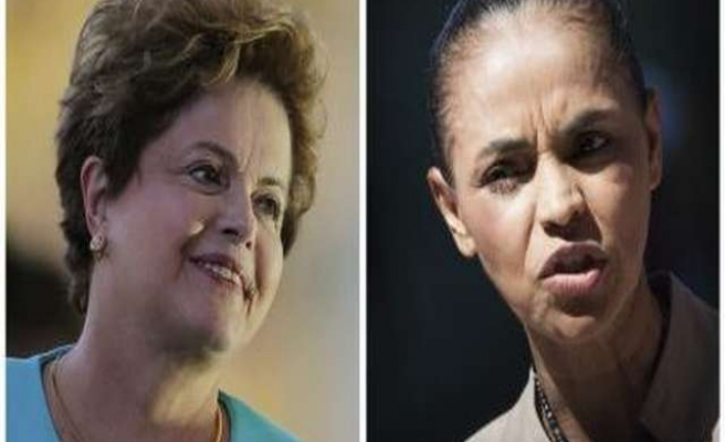 Rousseff gains in Brazil presidential race as Silva slips