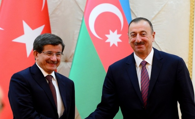 Turkey to stand 'shoulder to shoulder' with Azerbaijan