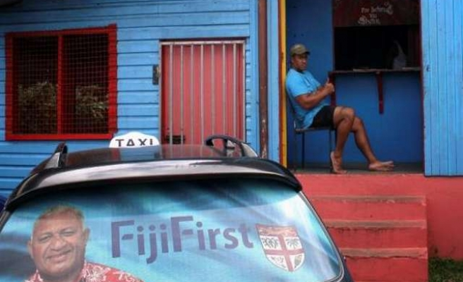Fiji strongman sworn in after election landslide