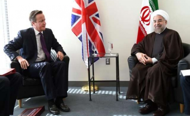 Leaders of UK and Iran meet for first time since revolution