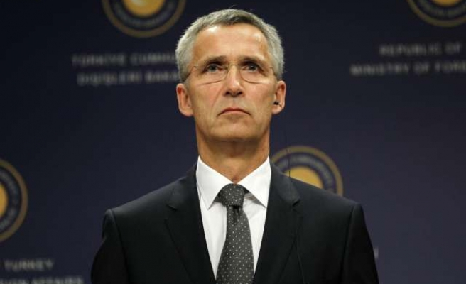 NATO chief urges military build-up