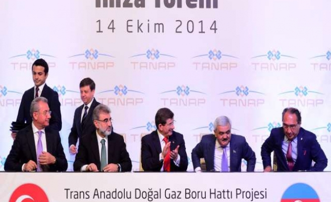 Contracts signed to supply pipes for TANAP pipeline