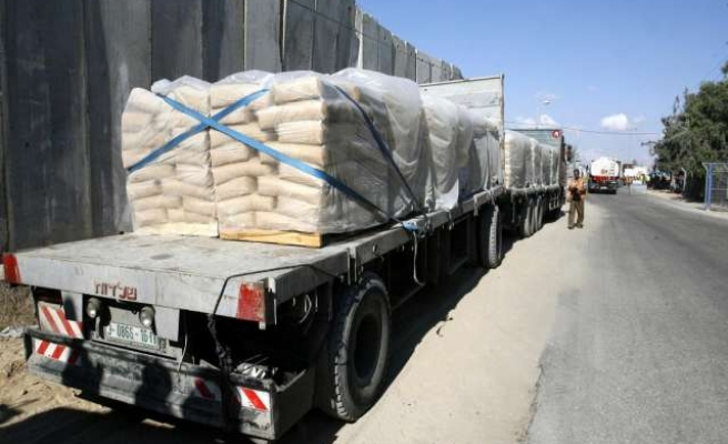 Israel to resume entry of building supplies into Gaza