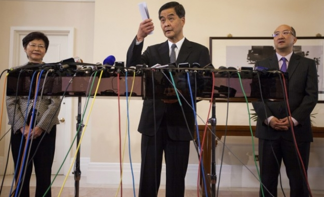 Hong Kong leader warns of 'anarchy'; opposition disrupts session