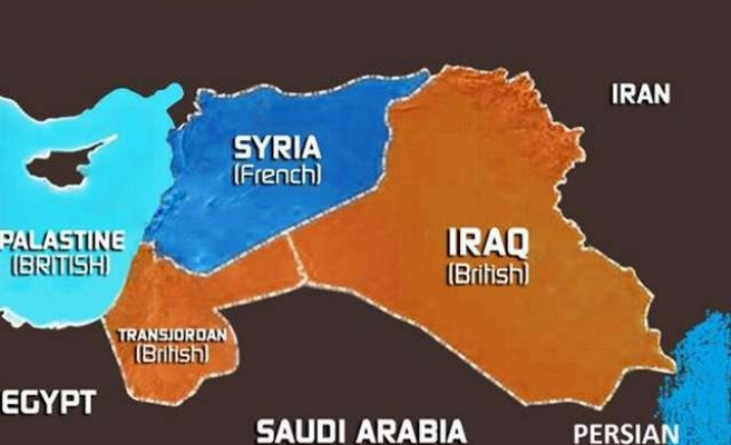 Sykes Picot Drew Lines In The Sand That Blood Is Washing Away