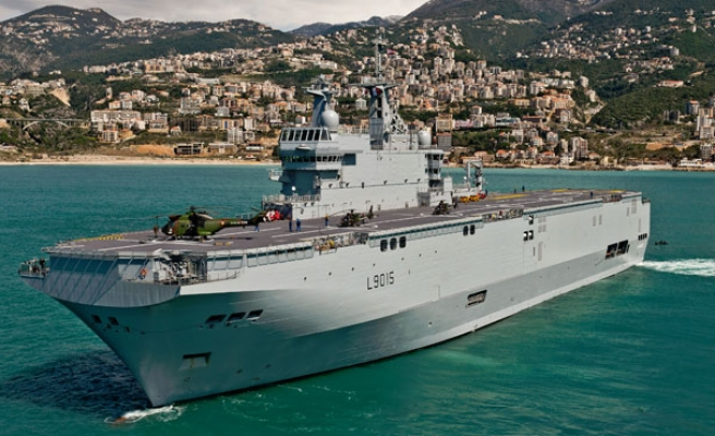 France hits back after Russia warns of Mistral compensation