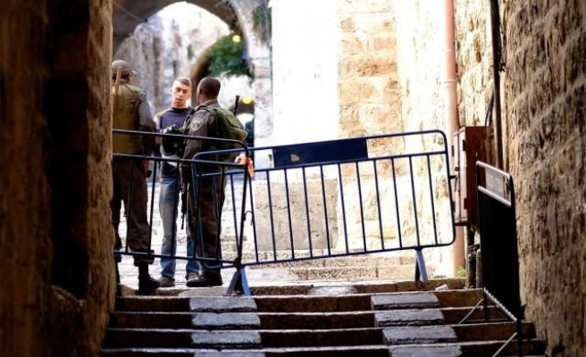 Israel restricts access to Aqsa Mosque amid tension