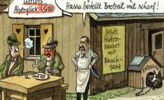 Germany defends insulting cartoon on Turks
