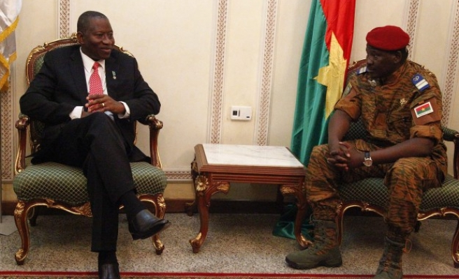 Burkina Faso army proposes transitional council