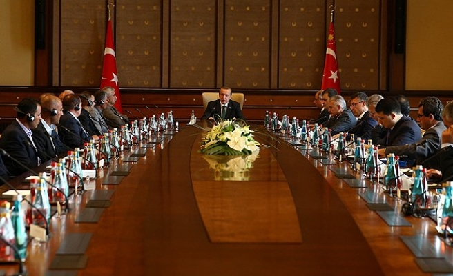 Erdogan receives Iraqi Ezidi delegation