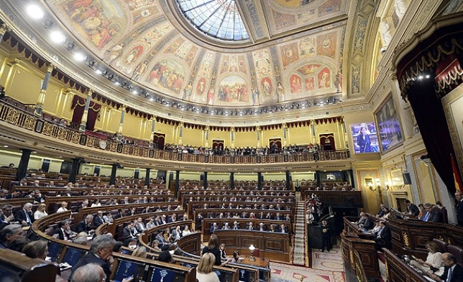 Spanish parliament backs call for Palestine state