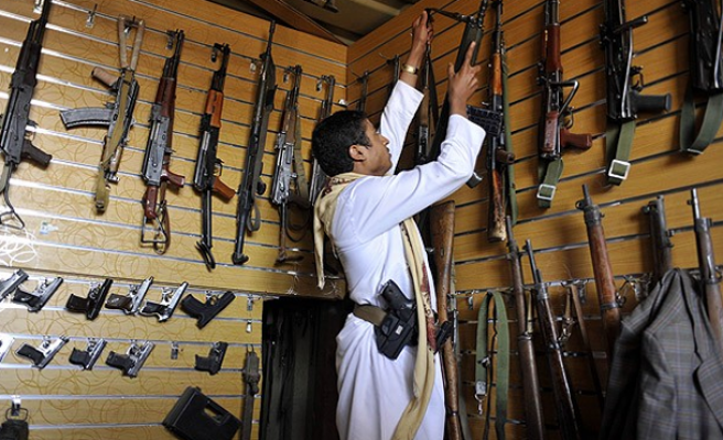 Two guns for every one person in Yemen