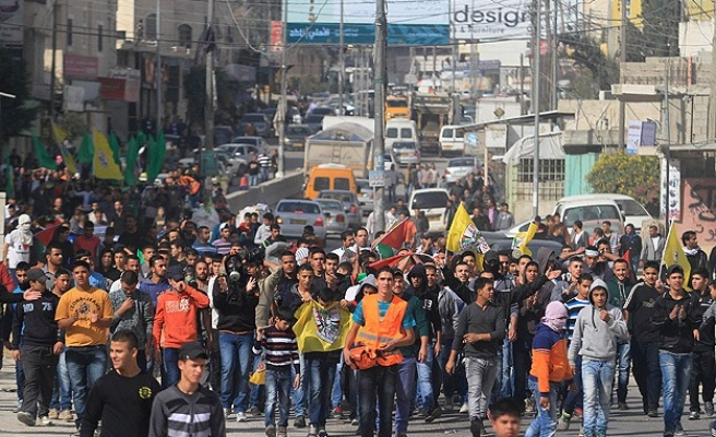 Hanged Palestinian driver laid to rest