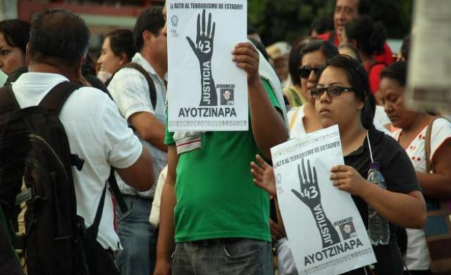 Mexico's missing student protests goes global