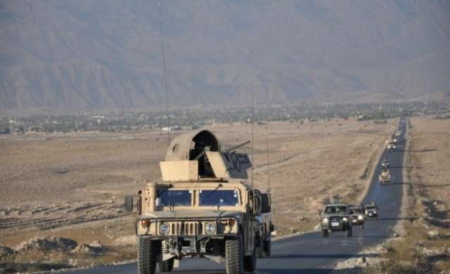 Truck bomb kills two in attack on foreign base in Kabul