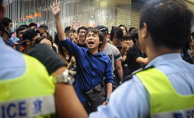 HK protesters adopt 'fluid' tactics against clearances