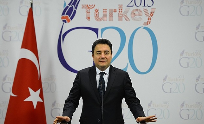 G20-Spurring growth centre stage as finance chiefs meet in Istanbul