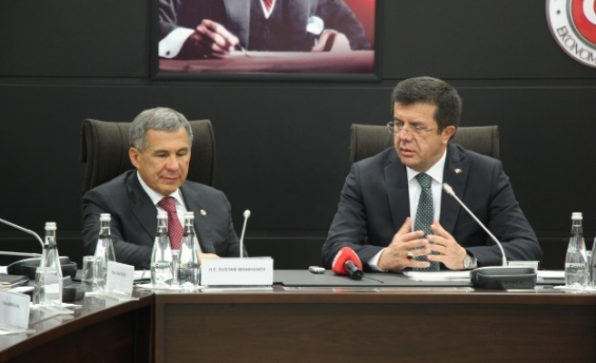 Tatarstan President meets with Turkey's Economy Minister