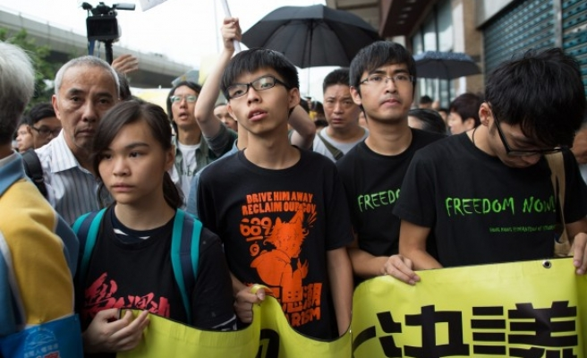 Hong Kong Occupy founders tell students to retreat