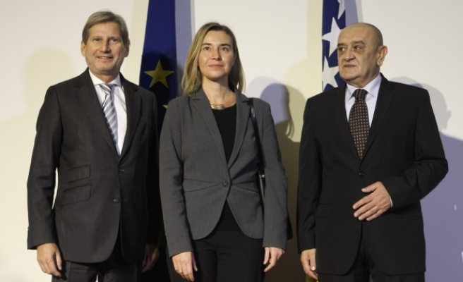 Bosnia 'more than ready' to join EU, says top official