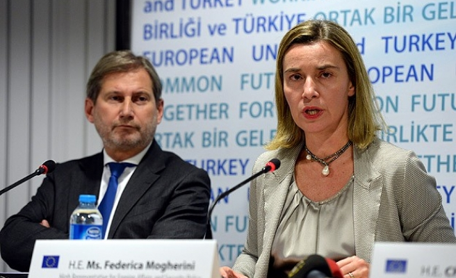 EU offers full support for Turkey's solution process