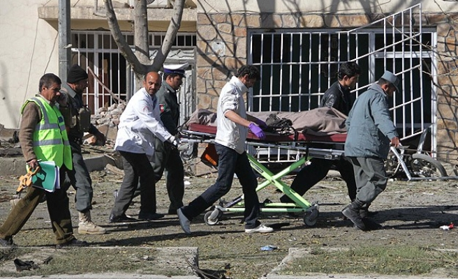 Suicide car bomb leaves 18 dead, injured in Afghanistan