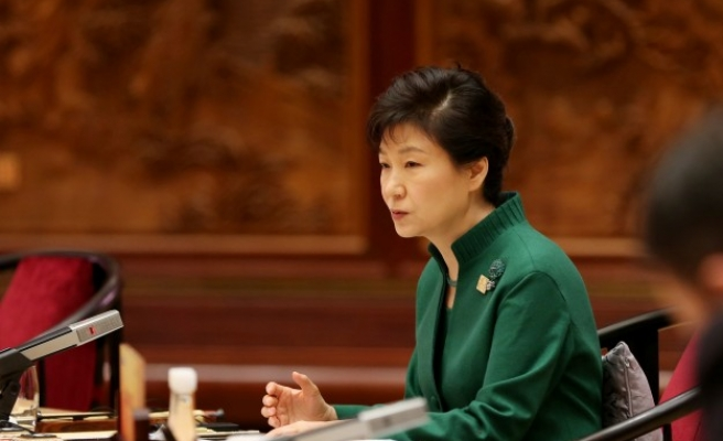 Park calls for North Korea to act on talks proposal
