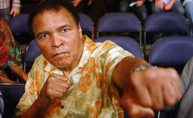 Boxing legend Muhammad Ali 'in good health'