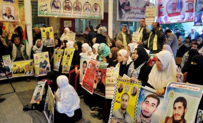 Gazans rally for release of detained relatives in Israel
