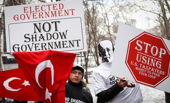 Hundreds rally in New York against Gulen movement